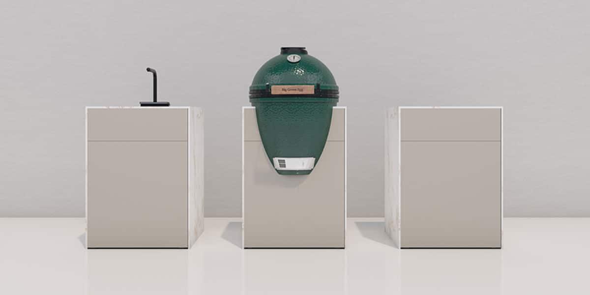 CUBE Außenküche Module von openair kitchen