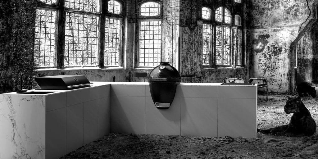 Outdoor Küchen neu interpretiert - openair kitchen