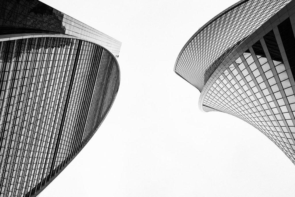 Moderne Gebäude - state of the art