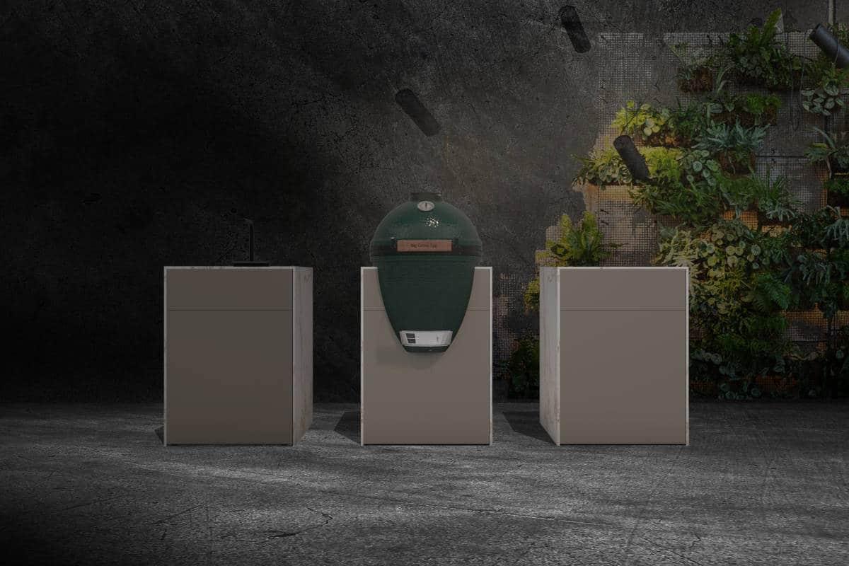 Outdoor-Küche freistehende Module