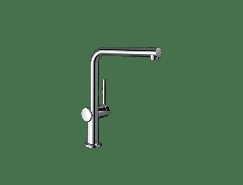 Außenküche Wasserhahn verchromt